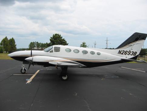 1980 Cessna 414A Chancellor