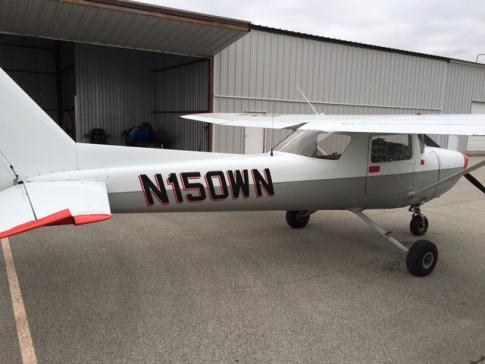 1973 Cessna 150L Commuter for Sale in Greenwood, Indiana, United States (KHFY)