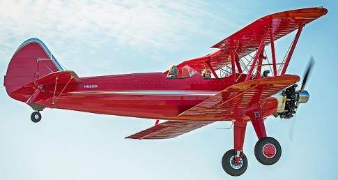 Stearman, Waco, Cub Restorations our Specialty in Andrews, North Carolina, United States (KRHP)