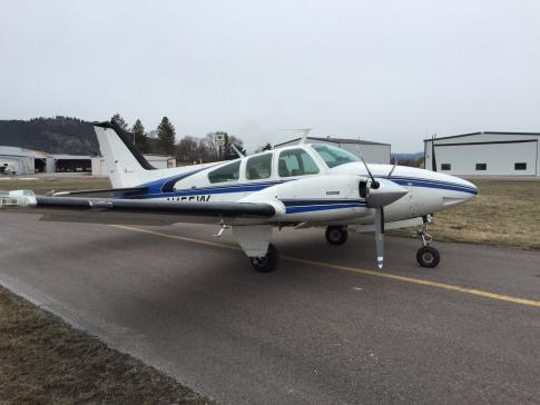 1973 Beech 95-B55 Baron for Sale in BIGFORK, Montana, United States