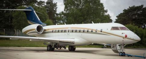 2009 Bombardier Global 5000 for Sale in Canada