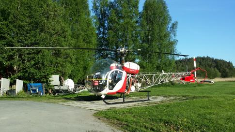 1965 Bell 47G-3B1 for Sale in Sweden (ESSN)