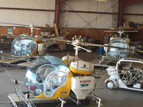 1970 Bell 47G-4A for Sale in Shafter, California, United States (9326)