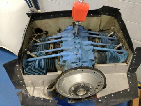 C172 Lycoming O-320-E20 150hp Complete Engine Prop Mount Cessna Make Offer everything front of the firewall in Denver, Colorado, United States (KAPA)