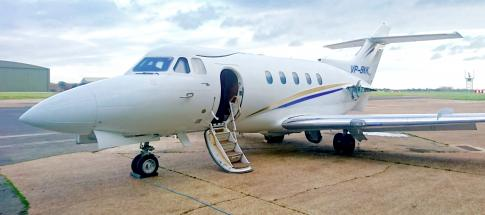 1970 Hawker Siddeley 125-400A for Sale in Bournemouth, Dorset, United Kingdom (EGHH)