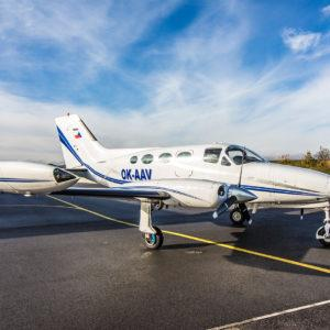 1969 Cessna 414 Chancellor for Sale in Czech Republic (LKPM)