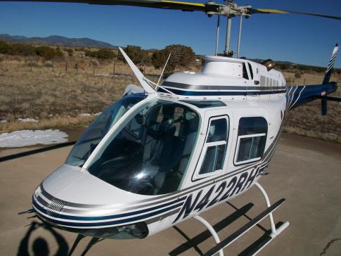 1981 Bell 206B3 JetRanger III for Sale in New Mexico, United States