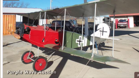1990 Loehle Fokker D-11 for Auction in McLouth, Kansas, United States