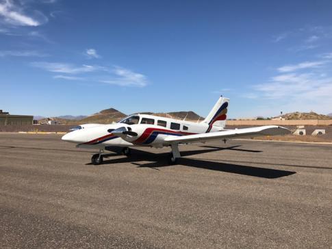 1977 Piper PA-34-200T Seneca II for Sale/ Swap/ Trade in Phoenix, Arizona, United States (KDVT)