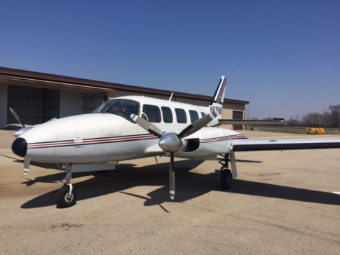 1976 Piper PA-31-350 Chieftain for Sale in Minneapolis, Minnesota, United States (KFCM)