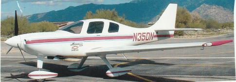 lancair ES in tucson, Arizona, United States (KAVQ)