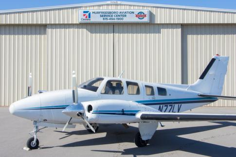 1980 Beech 58P Baron for Sale in Murfreesboro, Tennessee, United States (KMBT)