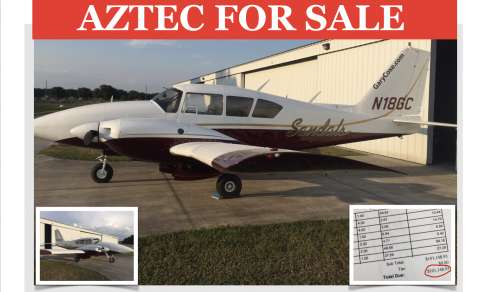 1970 Piper PA-23 Aztec D for Sale in Lakeland, Florida, United States (KLAL)