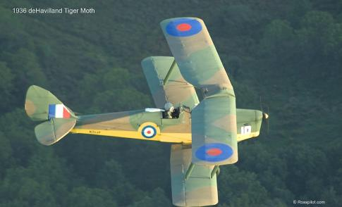 1936 de Havilland DH-82A Tiger Moth for Sale in United States