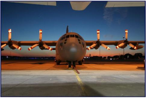 1957 Lockheed C-130A Hercules for Sale in ALEXANDRIA, Louisiana, United States (KAEX)