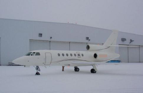 2000 Dassault 50EX Falcon for Sale in Switzerland