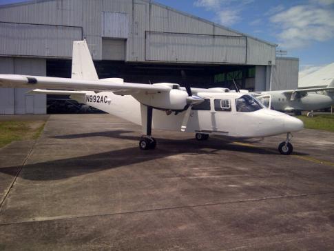 1982 Britten Norman BN2T Turbine Islander for Sale in Clark International Airport, Philippines