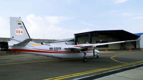 1985 Aero Commander 695A Jetprop 1000 for Sale in Bogota, Colombia