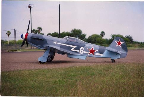 1944 Yakovlev YAK-3 for Sale in Harlingen, Texas, United States (T-65)