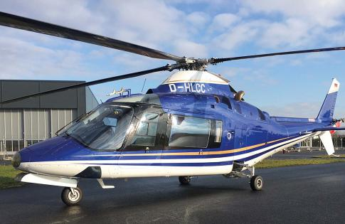 1987 Agusta A109A II for Sale in Germany