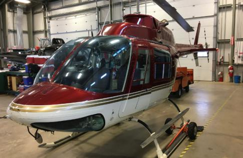 1973 Bell 206B JetRanger II for Sale in Canada