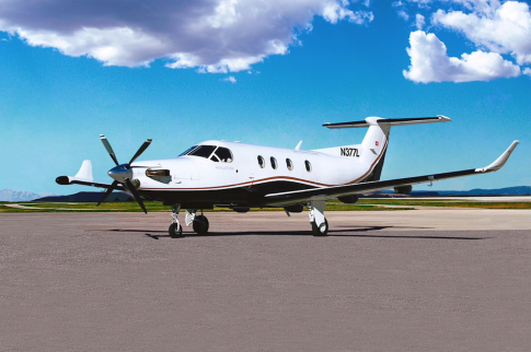 2000 Pilatus PC-12/45 for Sale in Salt Lake City, Utah, United States (SLC)
