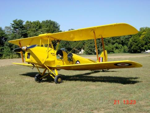 1939 de Havilland DH-82 Tiger Moth for Sale in New Jersey, United States