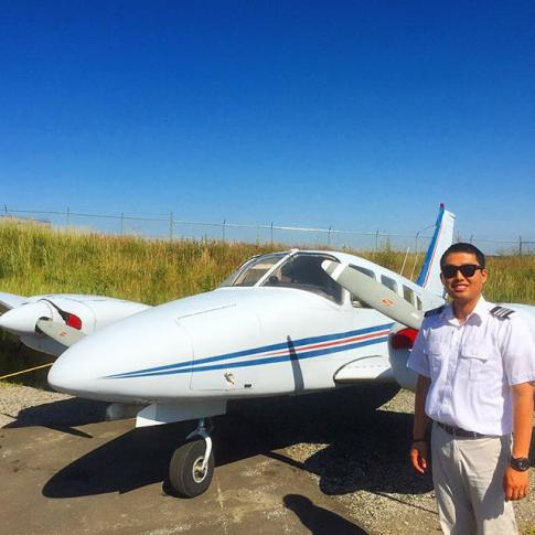 Become a commercial pilot - Accredited College in Montreal, Quebec, Canada (YMX)