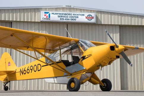 1954 Piper PA-18-150 Super Cub for Sale in Murfreesboro, Tennessee, United States (KMBT)