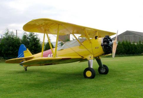 1945 Stearman PT-17/B75-N1 for Sale in North West, United Kingdom