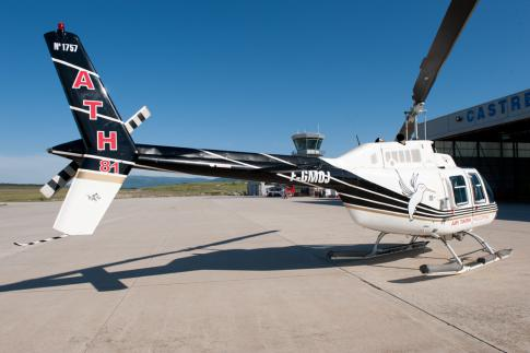 1975 Bell 206B JetRanger II for Sale in MONTPELLIER, France