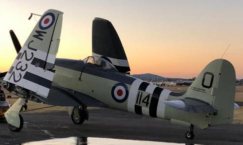 1953 Hawker Siddeley Sea Fury MK.11 for Auction in QLD, Australia