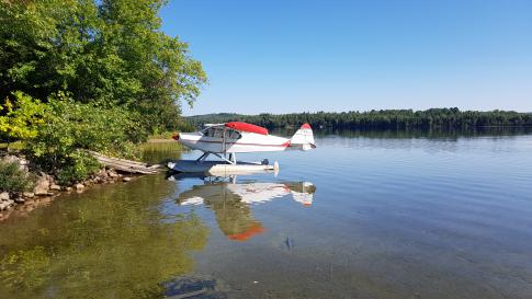 1947 Piper PA-12-150 Super Cruiser for Sale in Lac Cayamant, Quebec, Canada