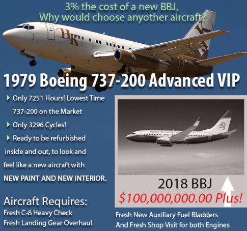 1979 Boeing 737-200 for Sale in Arizona, United States