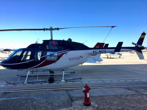 1989 Bell 206L3 LongRanger III for Sale in Madrid, Madrid, Spain (LECU)