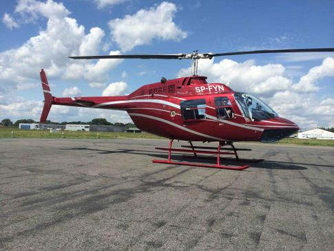 1992 Bell 206B3 JetRanger III for Sale in Poland