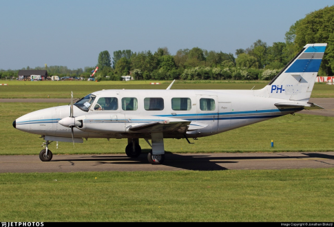 1980 Piper PA-31-350 Chieftain for Sale in Netherlands