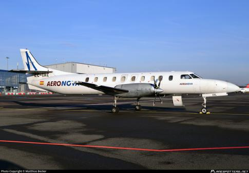 1987 Fairchild Swearingen SA227-AC Metro III for Sale/ Lease in Spain