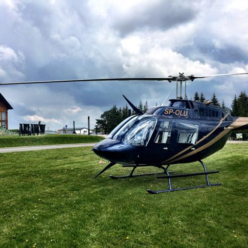 1993 Bell 206B3 JetRanger III for Sale in Poland