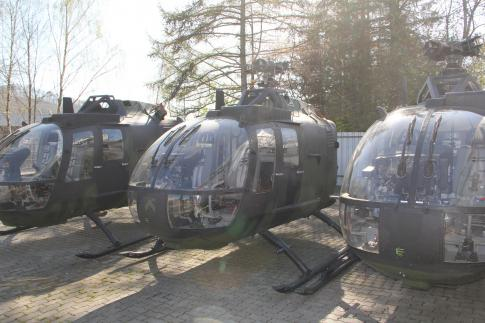 1980 Eurocopter Bo 105 for Sale in Meschede, Germany