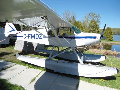 1960 Piper PA-18-150 Super Cub for Sale in Rimouski, Quebec, Canada (CYXK)