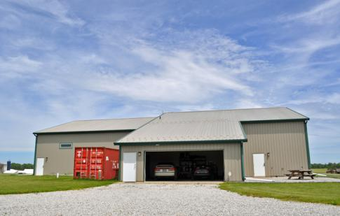 Mohican Air Park Hangar & Acreage in Shreve, Ohio, United States (340I)