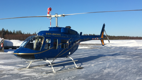 1980 Bell 206L1 LongRanger II for Sale in Sweden (ESSN)