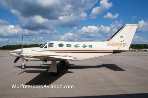 1982 Cessna 421C Golden Eagle for Sale in Murfreesboro, Tennessee, United States (KMBT)