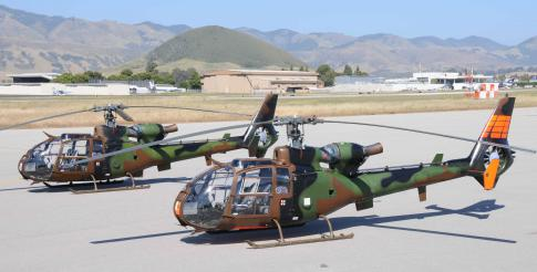 1976 Eurocopter SA 341 Gazelle for Sale in San Luis Obispo, California, United States (KSBP)