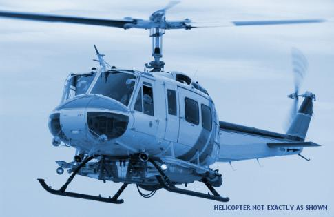 1972 Bell 205A-I Iroquois (Huey) for Sale in Papua New Guinea