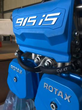 NEW Rotax 915 iS engine!!! in Kent, Folkestone, United Kingdom (LYX)
