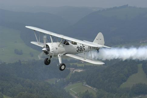 1940 Stearman PT-13D for Sale in Switzerland