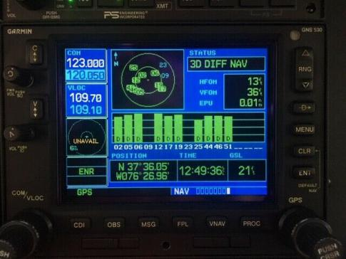 Garmin GNS 530W with Rack, Install Kit, Nav & Terrain Cards, Sky Bound, 8130 in West Colombia, South Carolina, United States