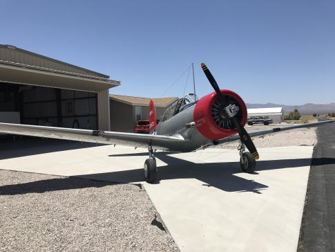 1941 Vultee BT-13A for Sale in Las Vegas, Nevada, United States (3L2)